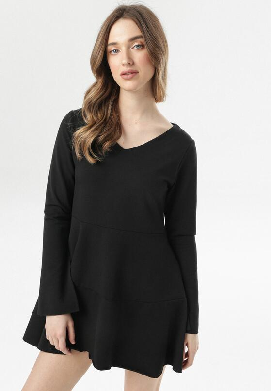 Czarna Sukienka Corasise