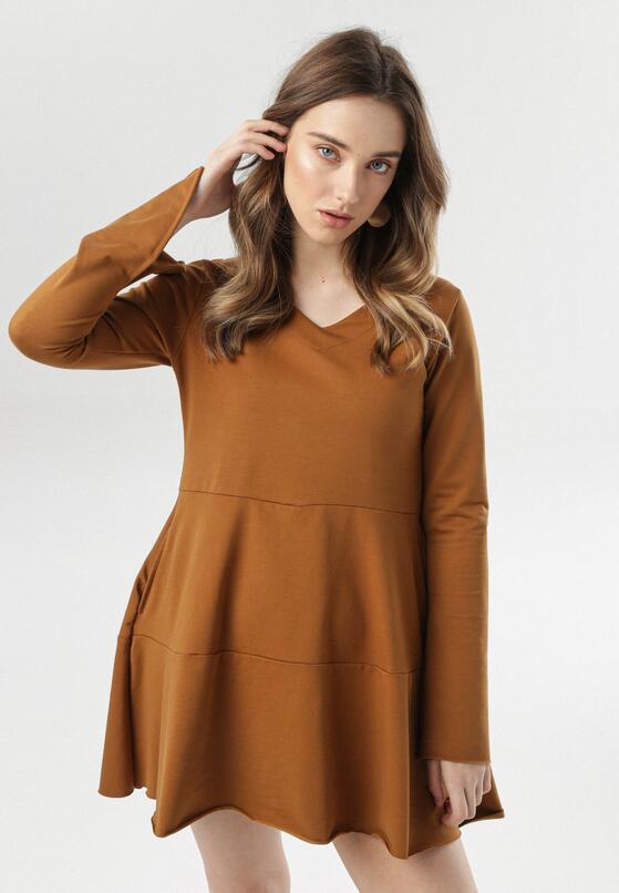 Camelowa Sukienka Corasise
