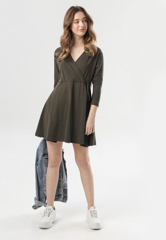 Khaki Sukienka Thelrea