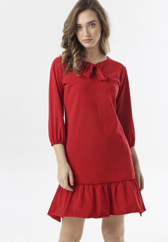 Czerwona Sukienka Morgalla