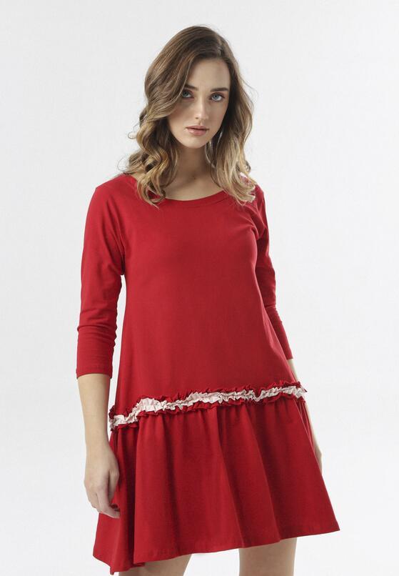 Czerwona Sukienka Thelxiemeine