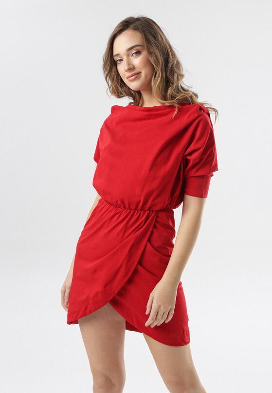 Czerwona Sukienka Phianele