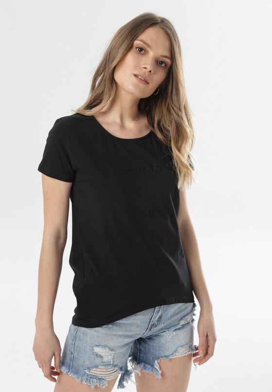 Czarny T-shirt Assathea