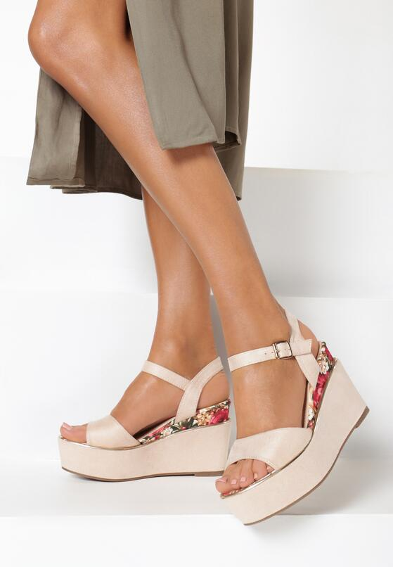 Różowe Sandały Genenore