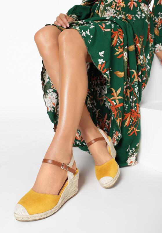 Żółte Sandały Laodanea