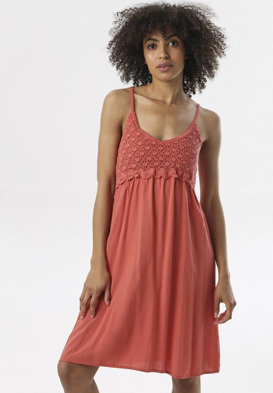Łososiowa Sukienka Maithei