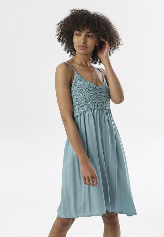 Niebieska Sukienka Maithei