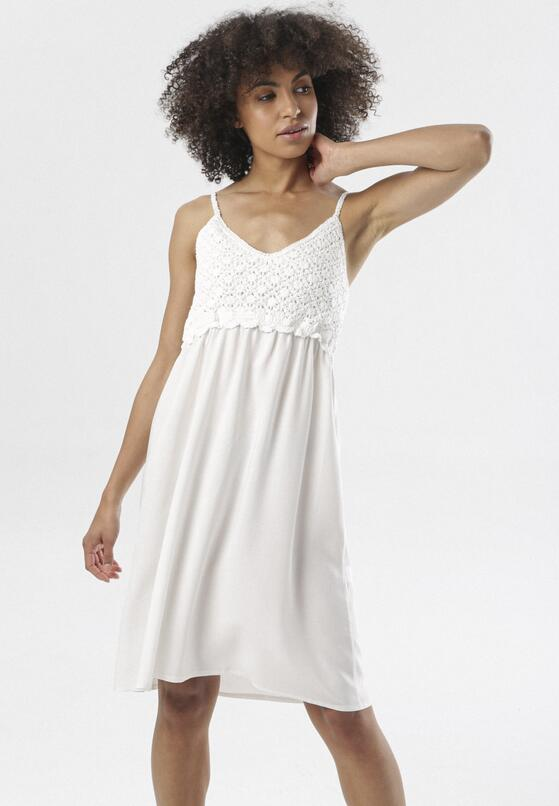 Biała Sukienka Maithei