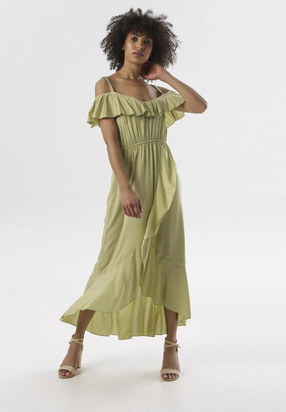Jasnozielona Sukienka Yearly