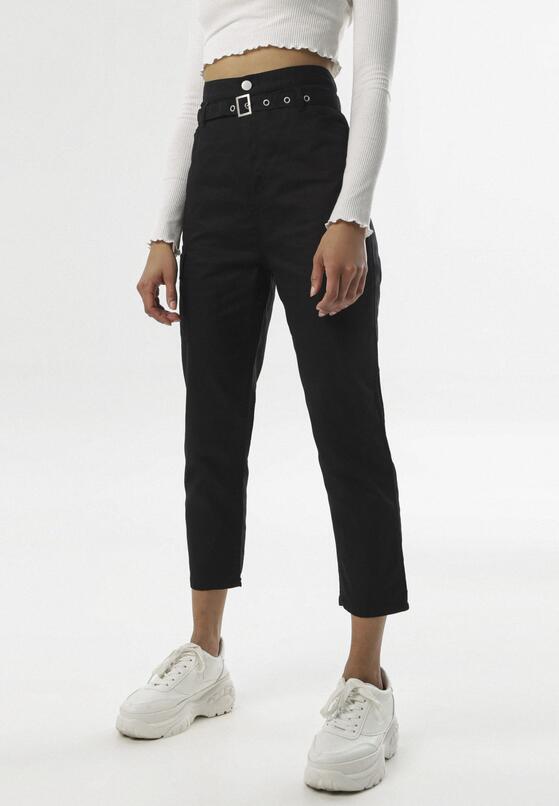 Czarne Spodnie Ialira