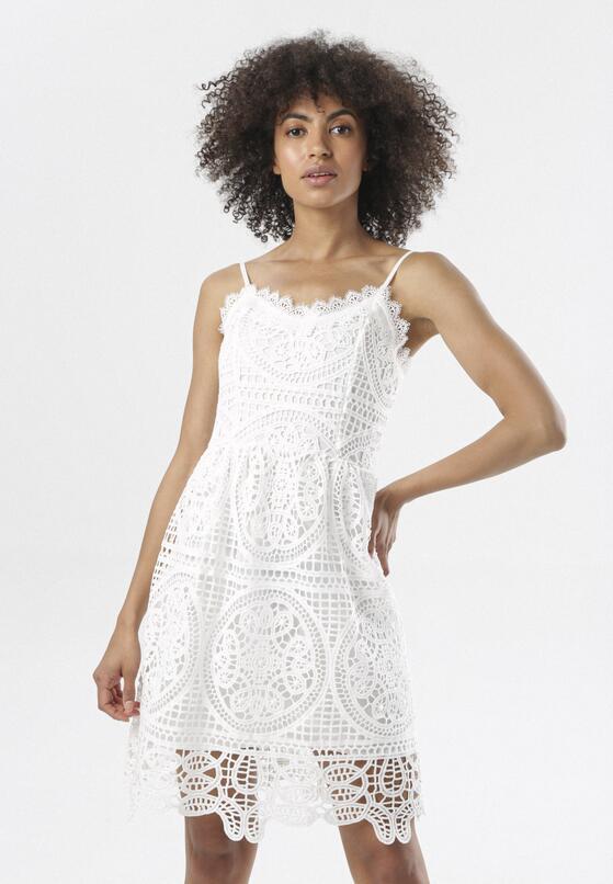 Biała Sukienka Corophia