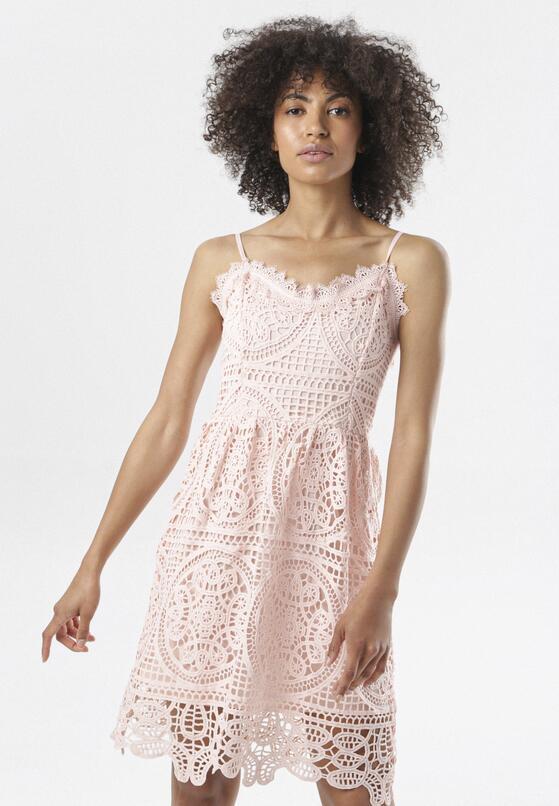 Różowa Sukienka Corophia