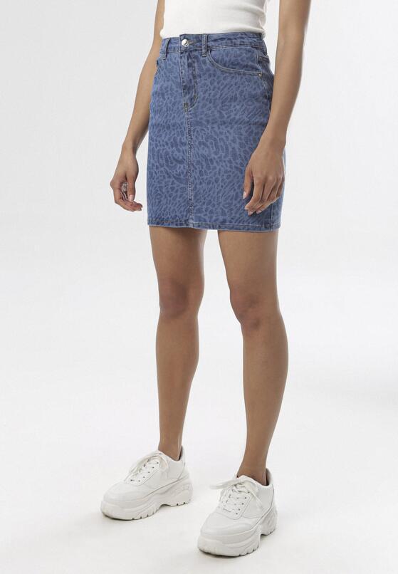 Niebieska Spódnica Ilariye
