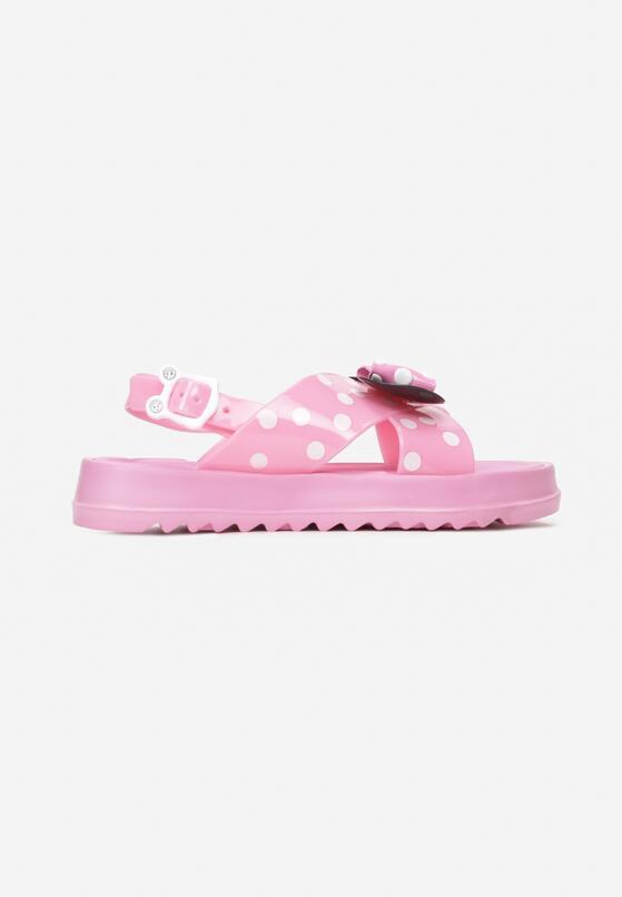 Różowe Sandały Pereinohre
