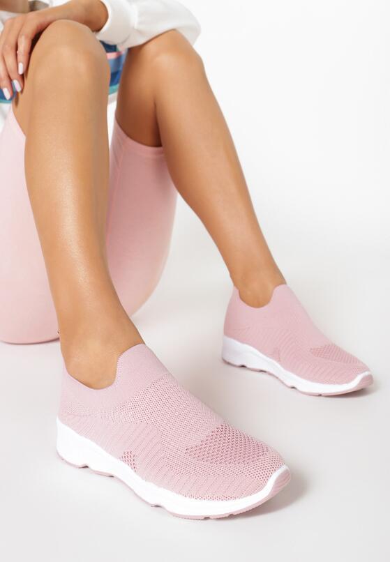 Różowe Sneakersy Haireino