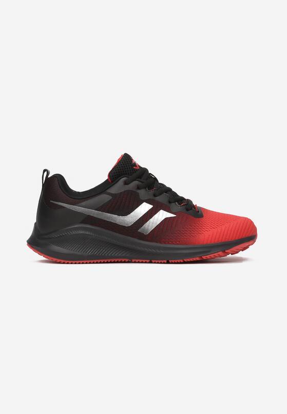 Czarno-Czerwone Buty Sportowe Arriewai