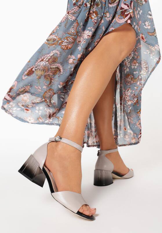 Beżowe Sandały Abadella