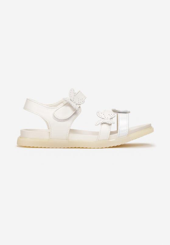 Białe Sandały Rhaedia