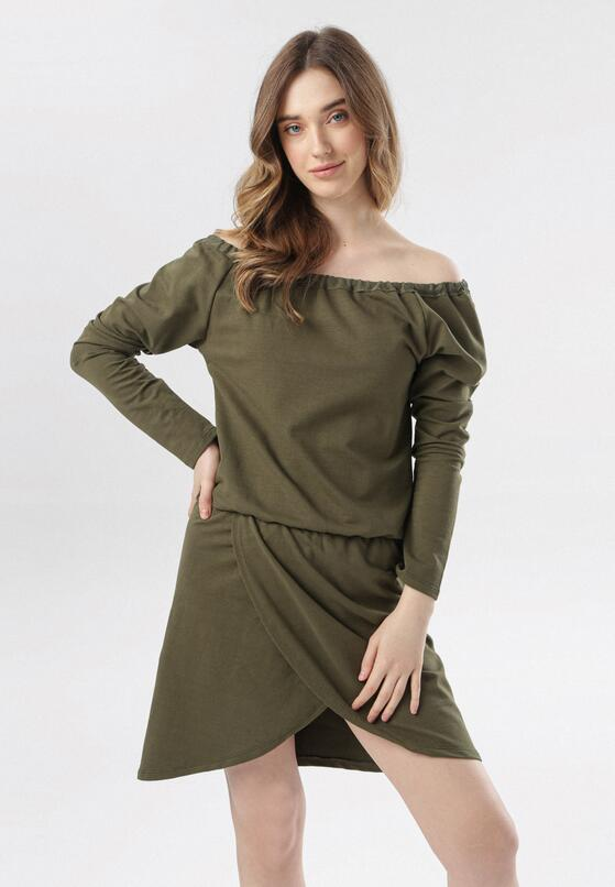 Khaki Sukienka Metiothyia
