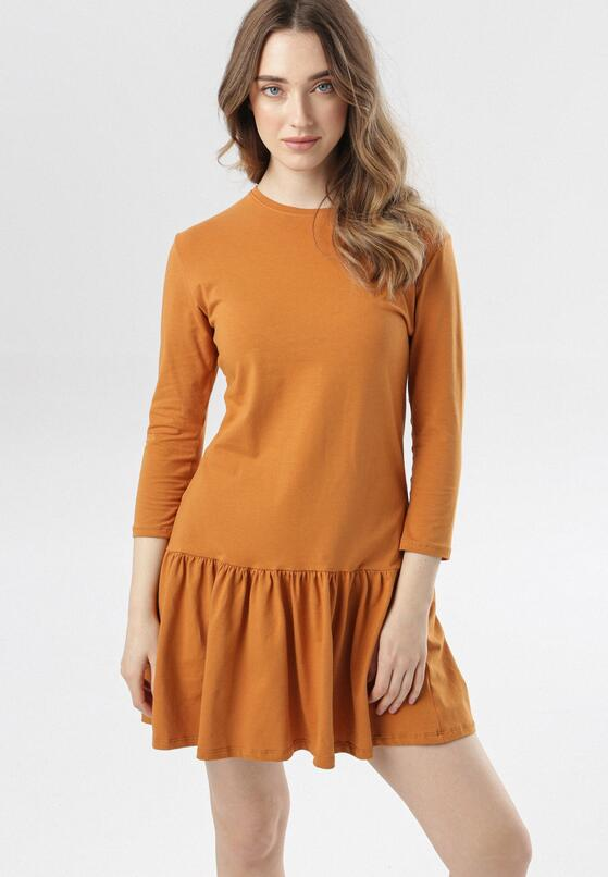 Camelowa Sukienka Adrienella