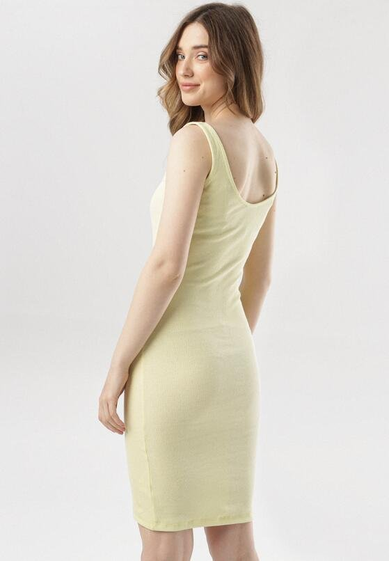 Żółta Sukienka Arrirah