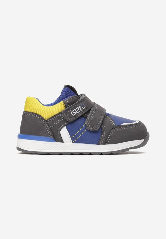 Żółto-Szare  Buty Sportowe Helirane