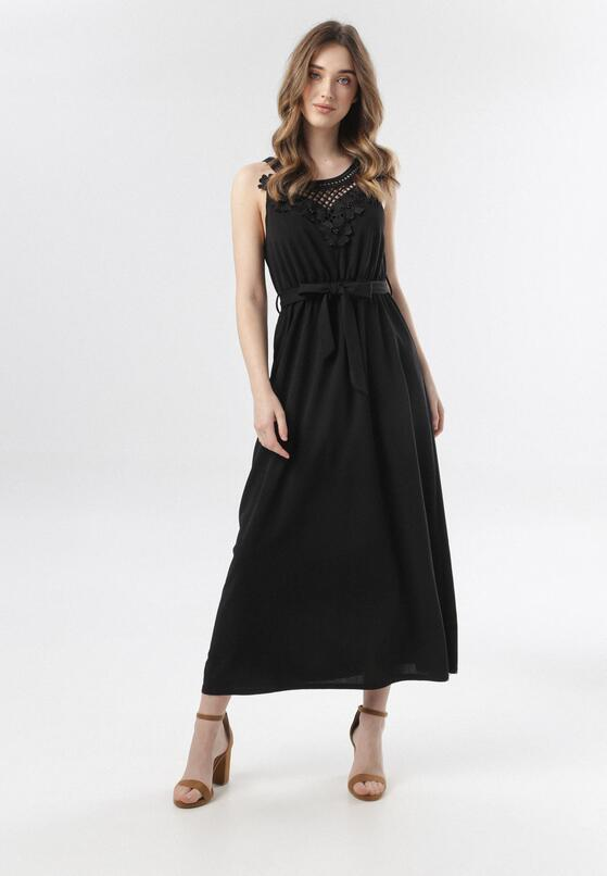 Czarna Sukienka Keladoe