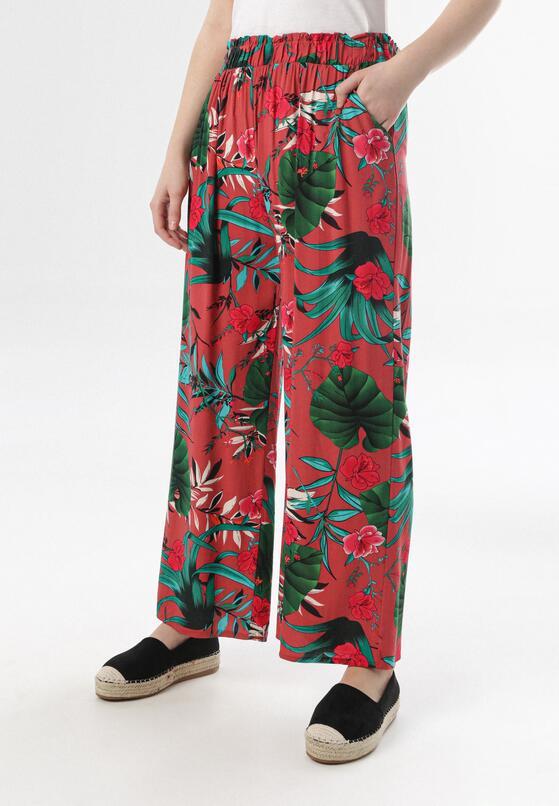 Łososiowo-Zielone Spodnie Jenyguna