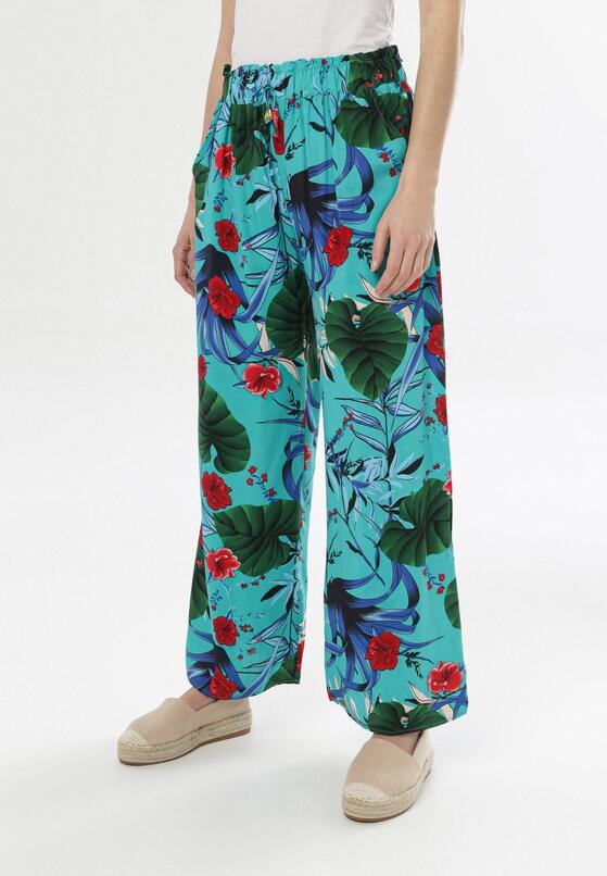 Miętowe Spodnie Jenyguna