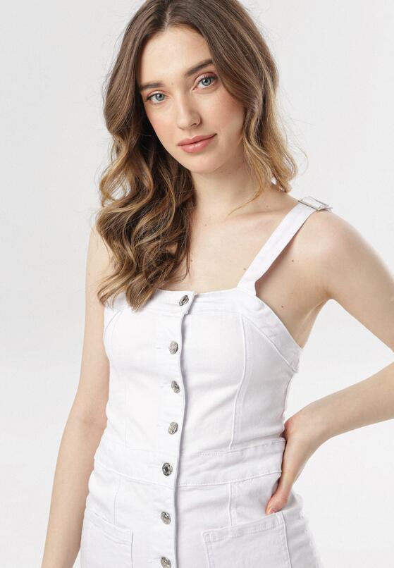 Biała Sukienka Doriavien