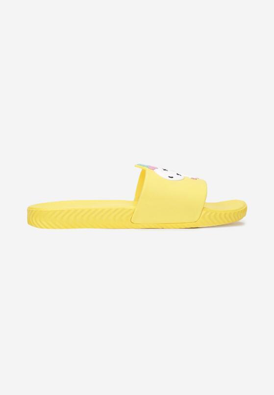 Żółte Klapki Heliriope