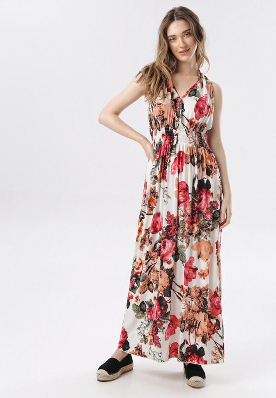 Biało-Różowa Sukienka Taloris
