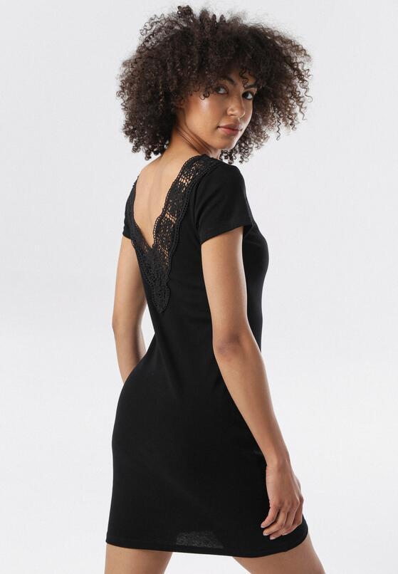 Czarna Sukienka Railea