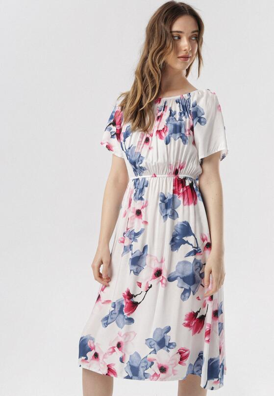 Biała Sukienka Nedaliana