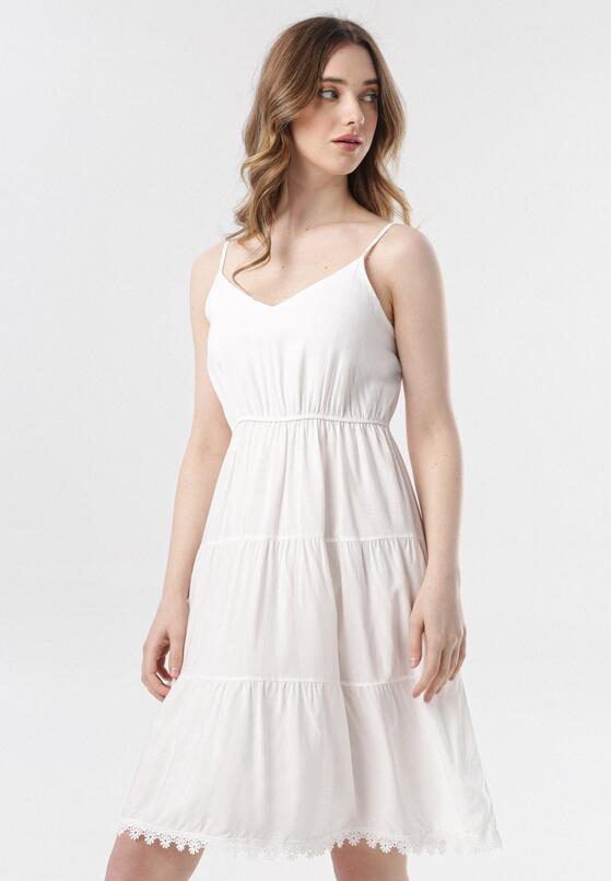 Biała Sukienka Pasithise