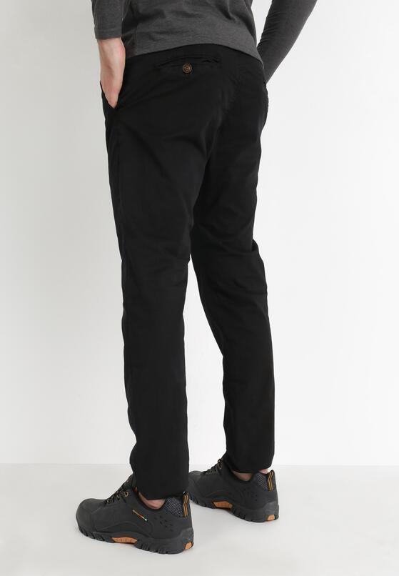 Czarne Spodnie Hyssa