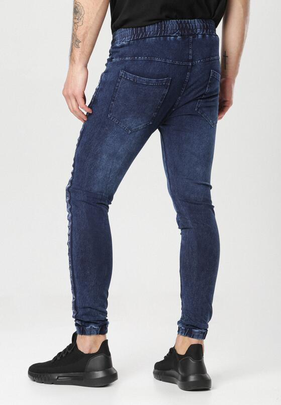Granatowe Spodnie Aerenella