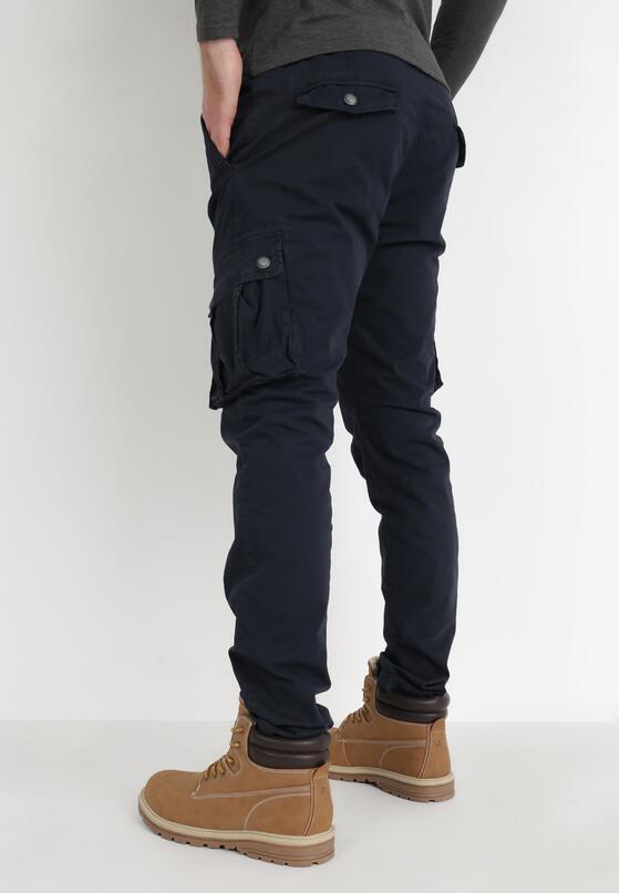Granatowe Spodnie Hylle