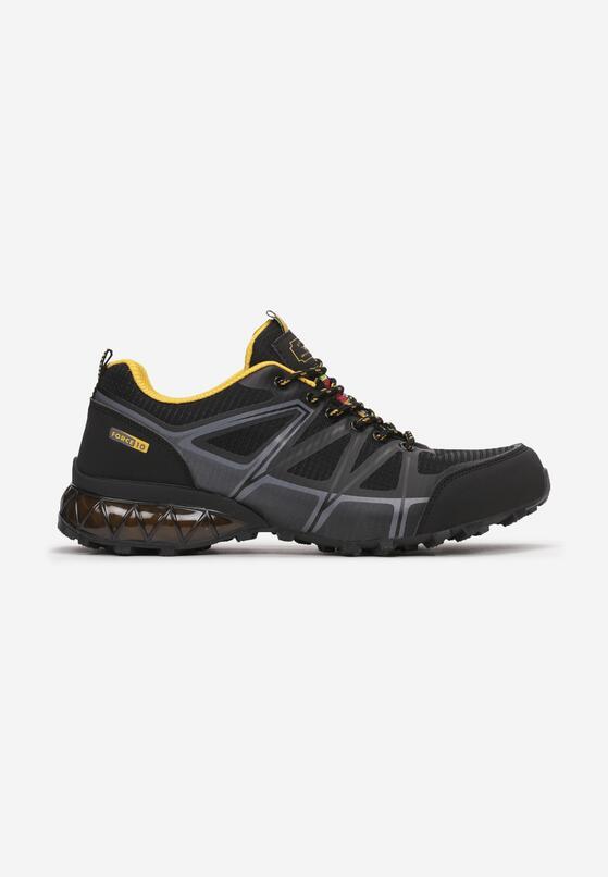 Czarno-Żółte Buty Sportowe Talome