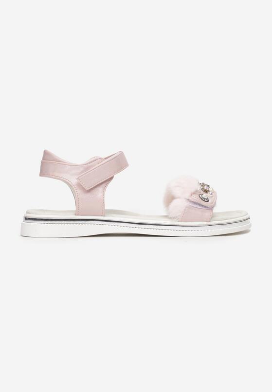 Różowe Sandały Corraerith