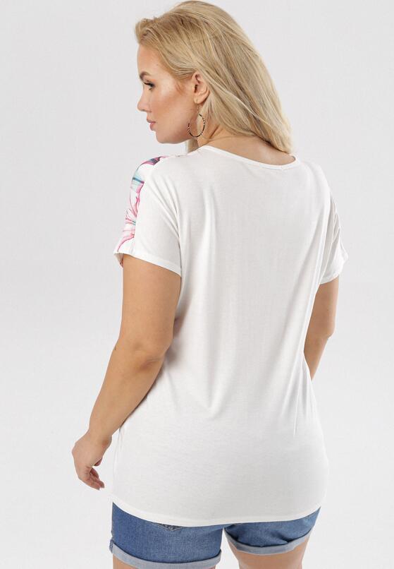 Biała Bluzka Theney