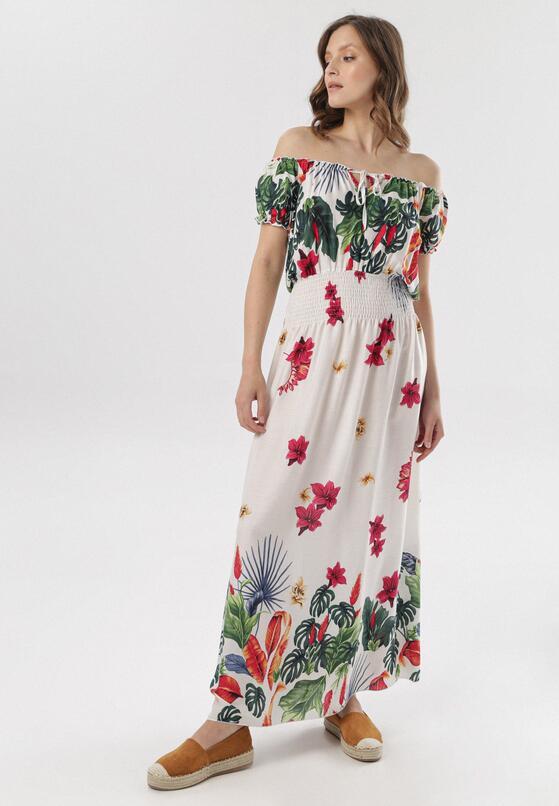 Biała Sukienka Nonanele