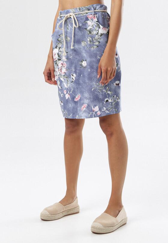 Niebieska Spódnica Parmellia