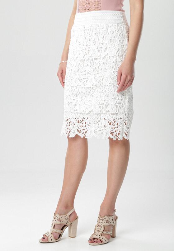 Biała Spódnica Kahlisine