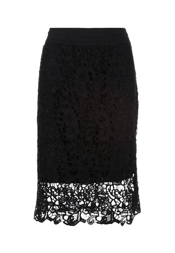 Czarna Spódnica Kahlisine