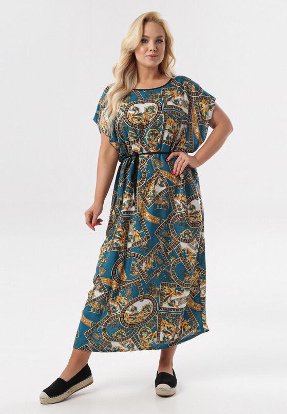 Niebieska Sukienka Calypsa
