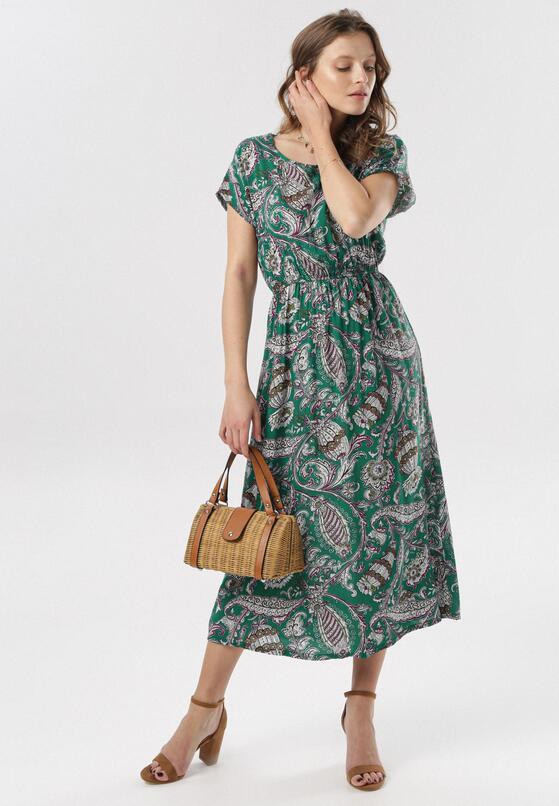 Zielona Sukienka Aglaia