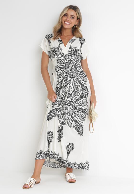 Biała Sukienka Khryseis