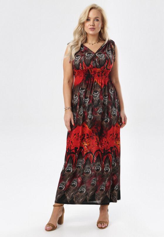 Czerwona Sukienka Eurybe