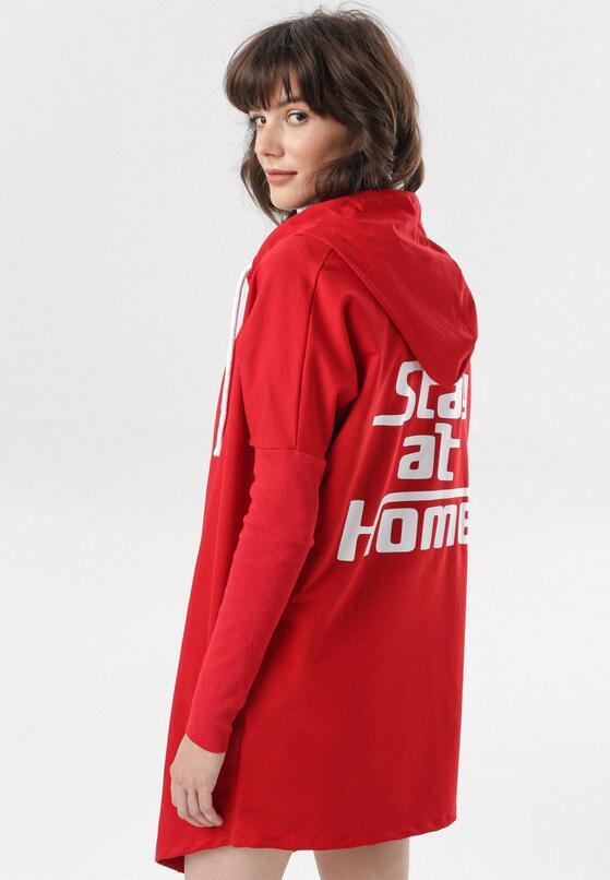 Czerwona Bluza Calidelia